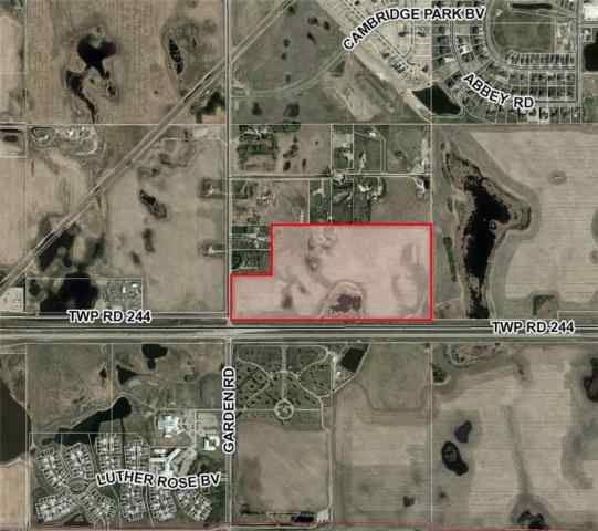 HWY # 1 & 100 Street NE C    in NONE Rural Rocky View County MLS® #C4288345