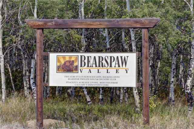 MLS® #C4291576 18 BEARSPAW VALLEY PL  T3R 1A3 Rural Rocky View County
