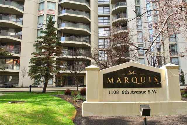 Unit-506-1108 6 Avenue SW in Downtown West End Calgary MLS® #C4293967