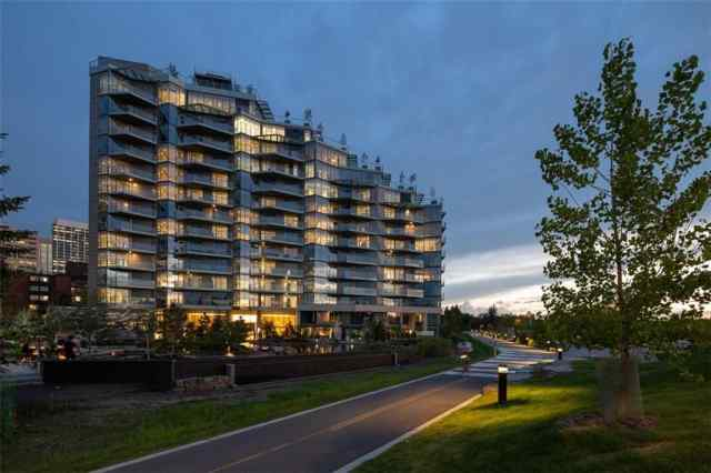 Unit-1108-738 1 Avenue SW in Eau Claire Calgary MLS® #C4297640