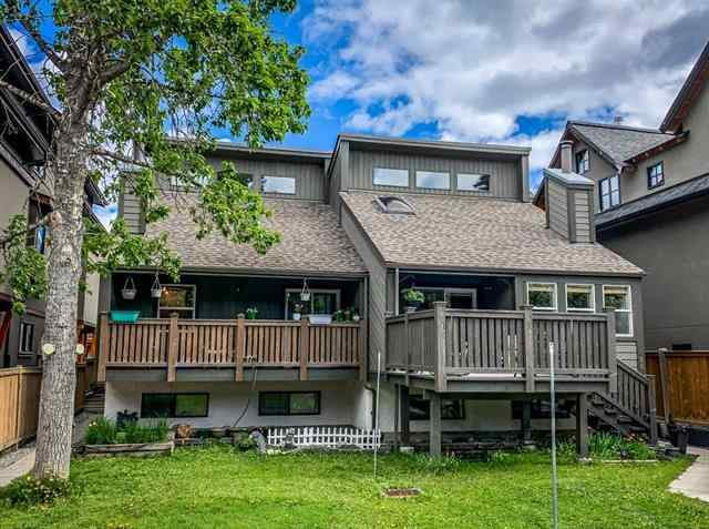 South Canmore real estate #3 818 3rd ST  in South Canmore Canmore