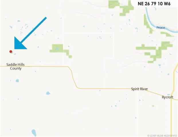 Range Rd 101 Twp Rd 794   in  Rural Saddle Hills County MLS® #LD0191413