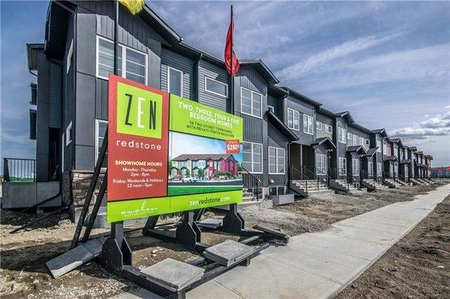 313 Red Embers Pr Ne, Calgary, Redstone real estate, Attached Redstone homes for sale
