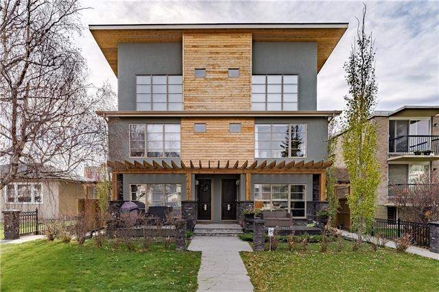 #1 1209 17 AV Nw, Calgary, Capitol Hill real estate, Attached Capitol Hill homes for sale