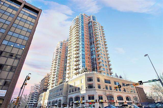 #2605 910 5 AV Sw, Calgary Downtown West End real estate, Apartment Downtown West End homes for sale