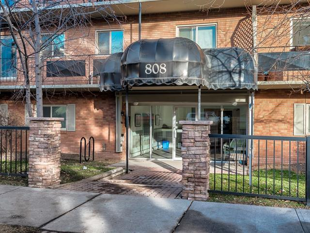 #206 808 Royal AV Sw, Calgary, Lower Mount Royal real estate, Apartment Lower Mount Royal homes for sale