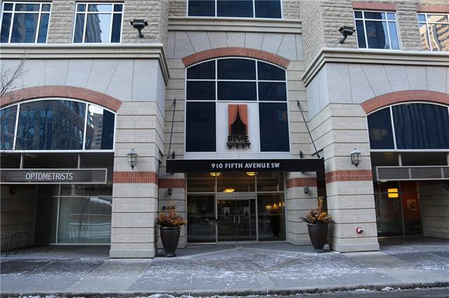 #1202 910 5 AV Sw in Downtown Commercial Core Calgary MLS® #C4216079
