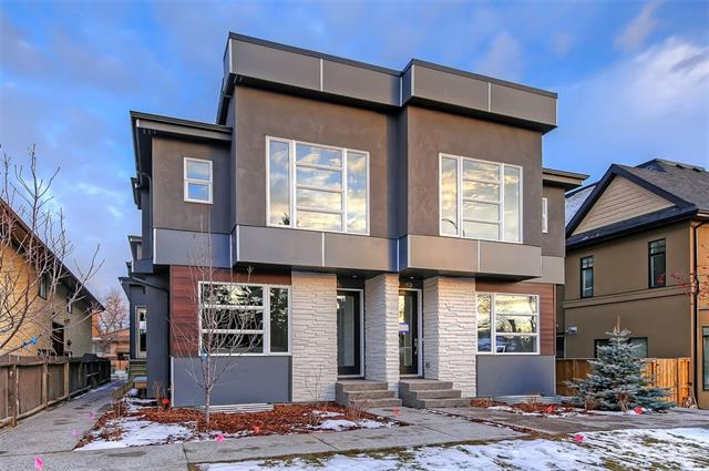 #1 1934 25a ST Sw, Calgary Richmond real estate, Attached Knobhill homes for sale