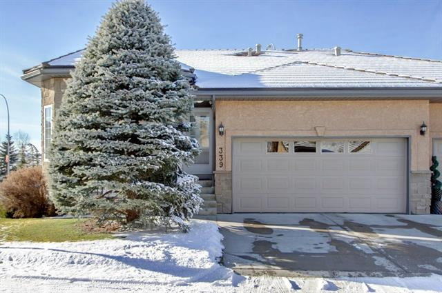 339 Shannon Estates Tc Sw, Calgary Shawnessy real estate, Attached Shawnessy homes for sale