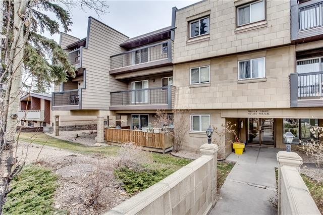#402 60 38a AV Sw, Calgary, Parkhill real estate, Apartment Parkhill homes for sale
