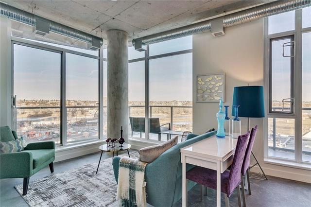 #704 624 8 AV Se, Calgary, Downtown East Village real estate, Apartment Downtown East Village homes for sale