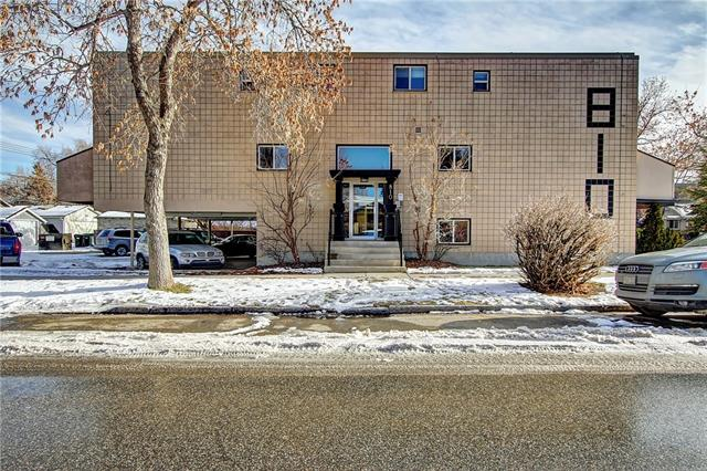 #8 810 2 ST Ne, Calgary, Crescent Heights real estate, Apartment Crescent Heights homes for sale
