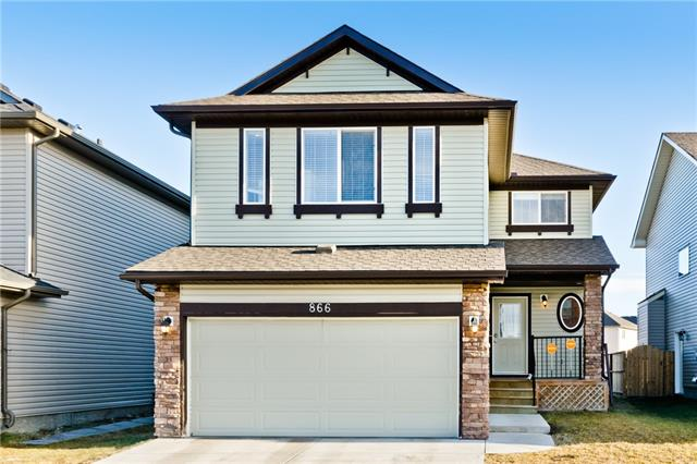 866 Canoe Gr Sw in Canals Airdrie MLS® #C4218805