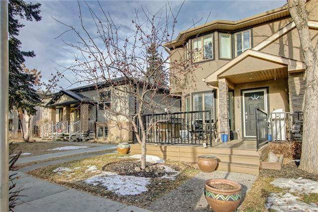 #1 438 20 AV Ne, Calgary, Winston Heights/Mountview real estate, Attached Winston Heights homes for sale