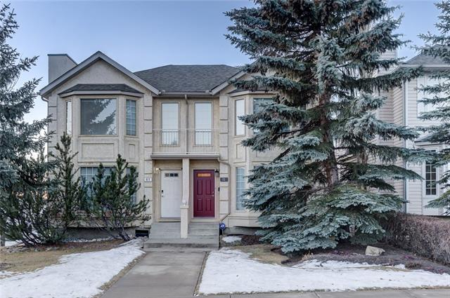 11 Sierra Morena WY Sw, Calgary, Signal Hill real estate, Attached Signal Hill homes for sale