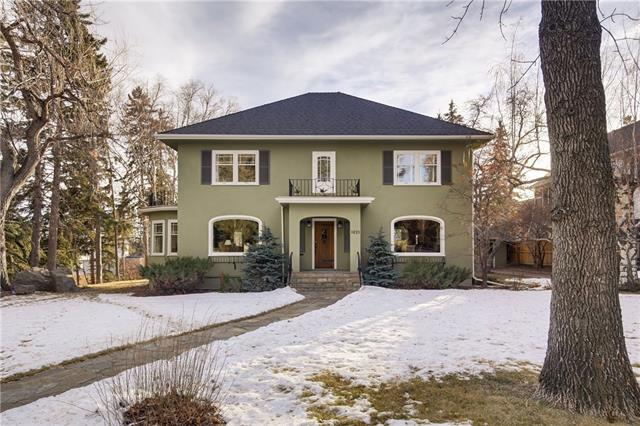 1021 Hillcrest AV Sw, Calgary, Upper Mount Royal real estate, Detached Upper Mount Royal homes for sale