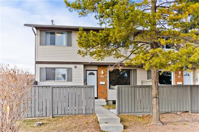 #78 740 Bracewood DR Sw, Calgary, Braeside real estate, Attached Braeside homes for sale