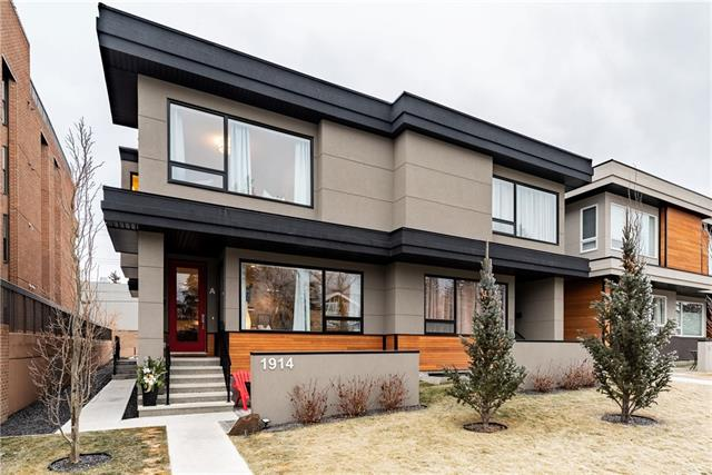 #a 1914 25a ST Sw, Calgary, Richmond real estate, Attached Knobhill homes for sale