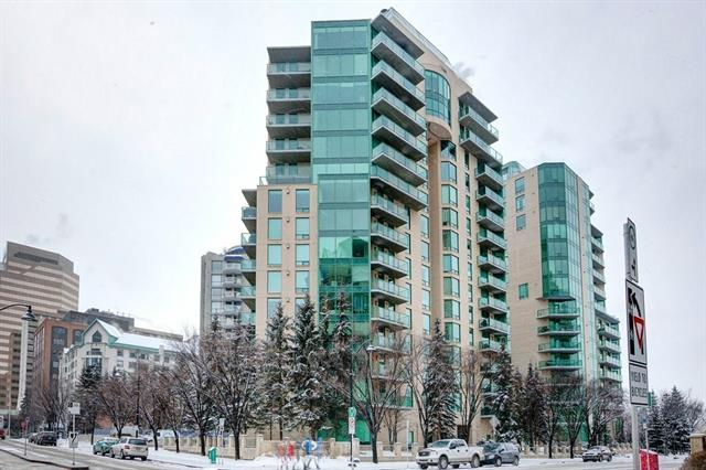 #802 801 2 AV Sw, Calgary, Eau Claire real estate, Apartment East Village homes for sale