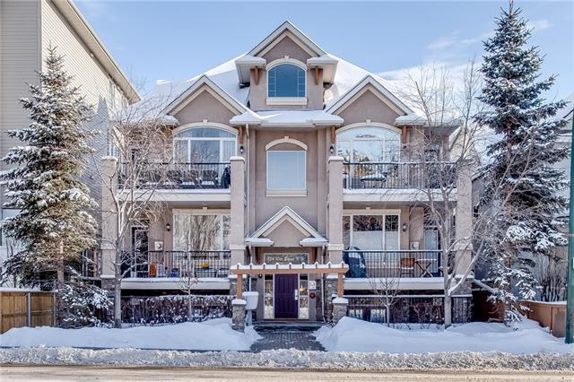 #2 824 10 ST Nw, Calgary, Sunnyside real estate, Apartment Sunnyside homes for sale