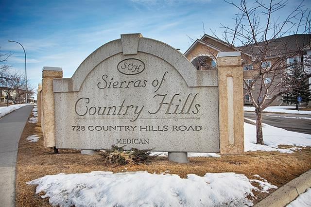 #116 728 Country Hills RD Nw, Calgary, Country Hills real estate, Apartment Country Hills homes for sale
