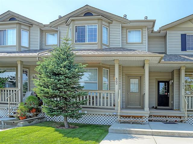 #503 2001 Luxstone Bv, Airdrie, Luxstone real estate, Attached Luxstone homes for sale