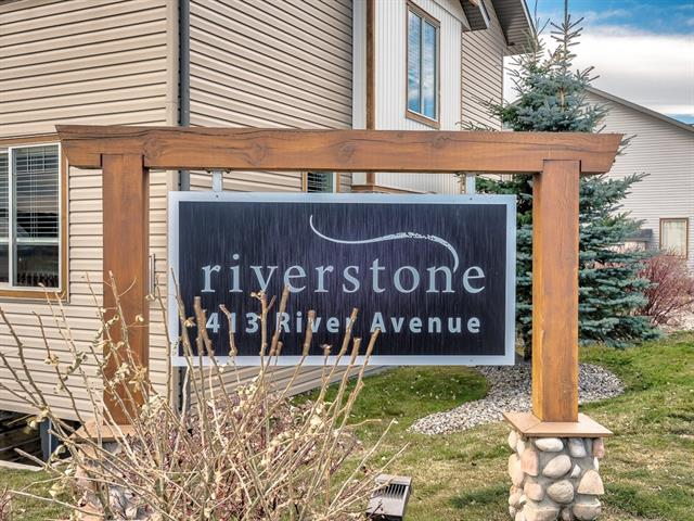 #608 413 River Av, Cochrane, Riverview real estate, Attached Cochrane homes for sale