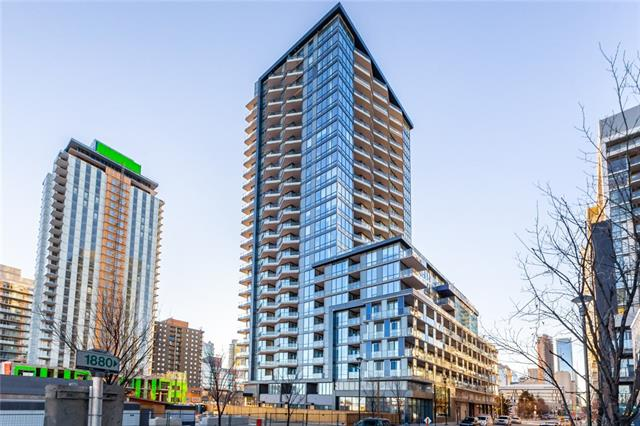 #1009 615 6 AV Se in Downtown East Village Calgary MLS® #C4225296