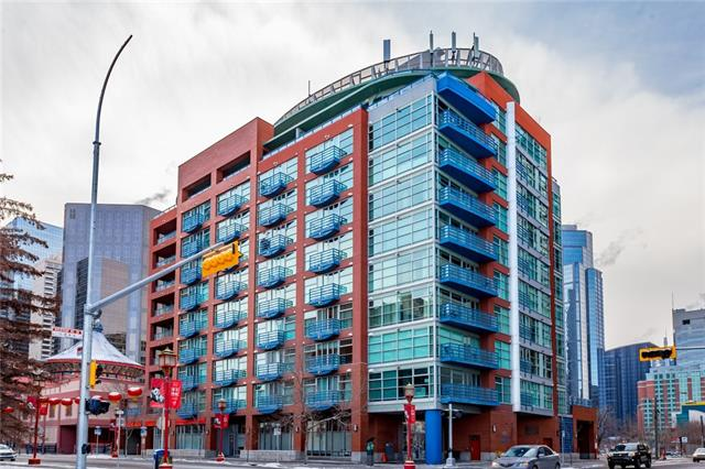 #702 205 Riverfront AV Sw, Calgary, Chinatown real estate, Apartment Chinatown homes for sale