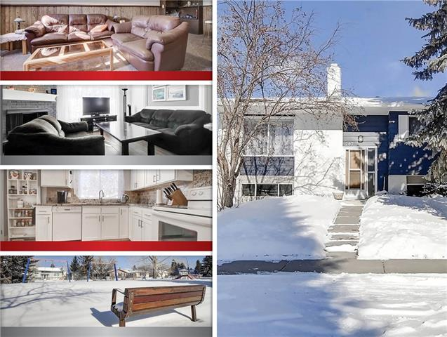 287 Queen Alexandra RD Se in Queensland Calgary MLS® #C4228885