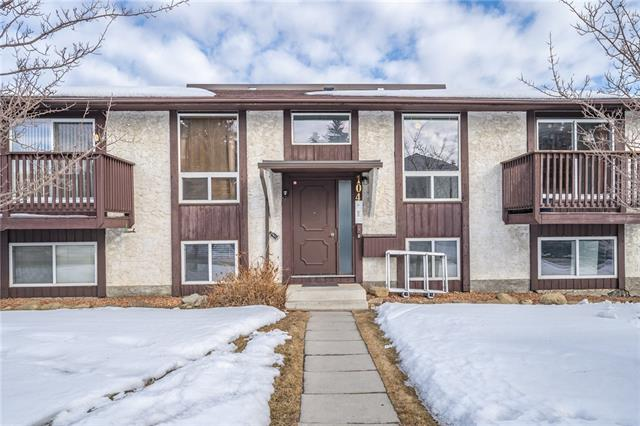 #6 104 Sabrina WY Sw, Calgary, Southwood real estate, Apartment Southwood homes for sale