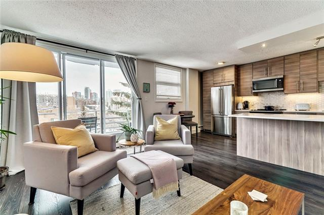 #510 1027 Cameron AV Sw, Calgary, Lower Mount Royal real estate, Apartment Lower Mount Royal homes for sale