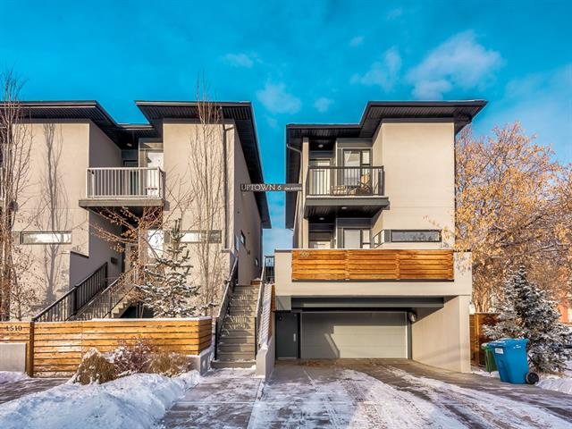 #2 1508 22 AV Sw, Calgary, Bankview real estate, Attached Bankview homes for sale