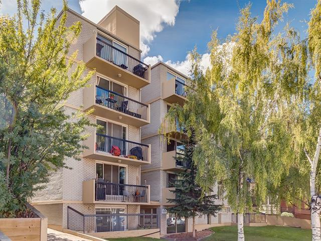 #401 1129 Cameron AV Sw, Calgary, Lower Mount Royal real estate, Apartment Lower Mount Royal homes for sale