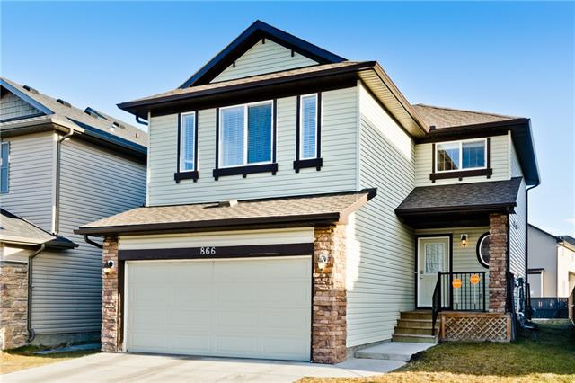 866 Canoe Gr Sw in Canals Airdrie MLS® #C4236995