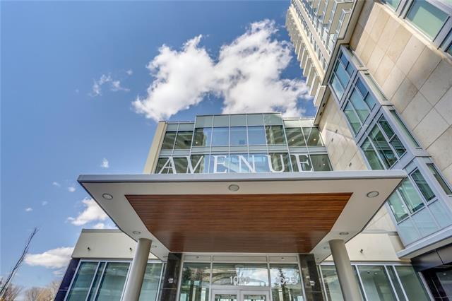 #803 1025 5 AV Sw in Downtown West End Calgary MLS® #C4237534