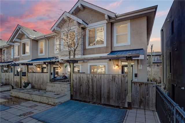 #20 2001 34 AV Sw, Calgary, Altadore real estate, Attached Marda Loop homes for sale