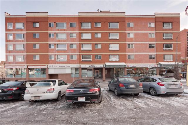 #307 110 2 AV Se, Calgary, Chinatown real estate, Apartment Chinatown homes for sale