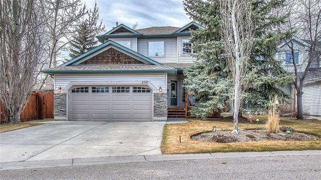 206 Chaparral PL Se in Chaparral Calgary MLS® #C4239507