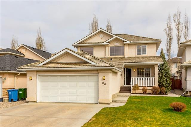 22 Mt Gibraltar PL Se in McKenzie Lake Calgary MLS® #C4244100