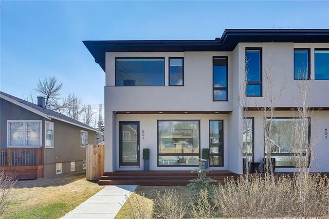 607 9 AV Ne, Calgary, Renfrew real estate, Attached Calgary homes for sale